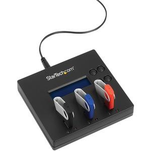 StarTech.com Dock Base Clonador Duplicador Autónomo Copiador Borrador Memorias PendriveFlash USB - 1 a 2 - 1:2 Standalone