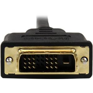 StarTech.com Adaptador Cable Conversor de 1m Mini HDMI®a DVI-D para Tablet y Cámara - Extremo prinicpal: 1 x HDMI (Mini ti