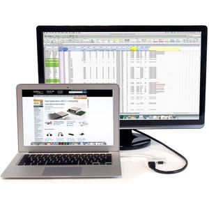 StarTech.com Adattatore Mini DisplayPort a HDMI e VGA - Convertitore audio/video da viaggio mDP 2 in 1 - 1920x1200 / 1080p