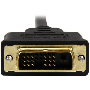 StarTech.com 1 m DVI-D/Micro HDMI Video Cable for Audio/Video Device, Projector, Notebook, Tablet PC, Camera, Tablet, Smar