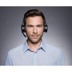 Cuffie Jabra EVOLVE 75 MS Wireless Over-the-head Stereo - Binaural - Circumaurale - 3048 cm - Bluetooth - 20 Hz a 20 kHz -