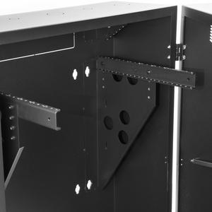 "StarTech.com 8U 19"" Vertical Wall Mount Server Rack Cabinet Enclosure - Low Profile (15"") - 30"" Deep Locking w/2U for Netw"