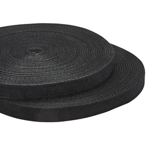 25ft. Hook and Loop Roll - Cut-to-Size Reusable Cable Ties - Bulk Industrial Wire Fastener Tape - Adjustable Fabric Wraps
