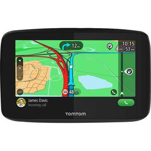 "Navigatore GPS portatile da auto Tomtom GO Essential - Nero - Portatili, Montabile - 12,7 cm (5"") - Touchscreen - Microfon"