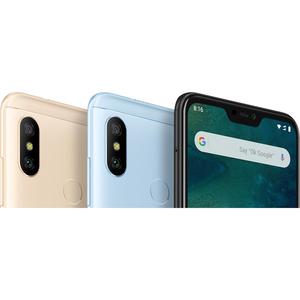 """MI A2 Lite 64 GB Smartphone - 14.8 cm (5.8"""") LCD Full HD Plus 2280 x 1080 - Cortex A53Octa-core (8 Core) 2 GHz - 4 GB RAM"""