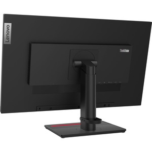 """Lenovo ThinkVision T27h-20 68.6 cm (27"""") QHD LED LCD Monitor - 16:9 - Raven Black - 685.80 mm Class - In-plane Switching ("""