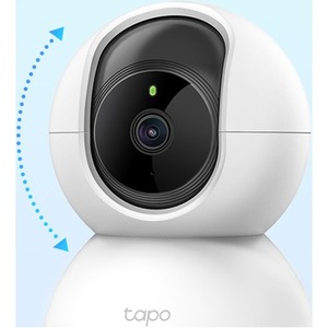 Tapo HD Network Camera - Colour - 9.14 m - H.264 - 1920 x 1080 Fixed Lens - Google Assistant, Alexa Supported