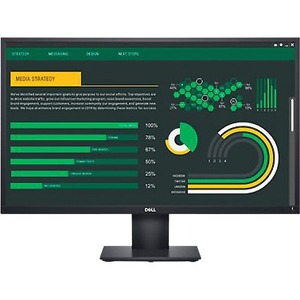"""Dell E2720H 68.6 cm (27"""") Full HD Curved Screen LED LCD Monitor - 16:9 - Black - 685.80 mm Class - In-plane Switching (IPS"""