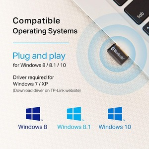 TP-Link UB400 Bluetooth 4.0 Bluetooth Adapter for Desktop Computer/Notebook - USB 2.0 - External