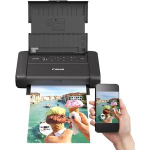 Canon PIXMA TR150 Inkjet Printer with battery - Colour - 4800 x 1200 dpi Print - Manual Duplex Print - 50 Sheets Input - W