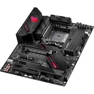 Asus ROG Strix B550-E GAMING Desktop Motherboard - AMD Chipset - Socket AM4 - ATX - 128 GB DDR4 SDRAM Maximum RAM - DIMM,