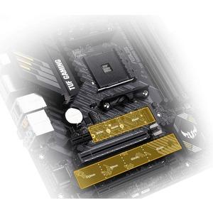 TUF GAMING B550M-PLUS (WI-FI) Desktop Motherboard - AMD Chipset - Socket AM4 - Micro ATX - 128 GB DDR4 SDRAM Maximum RAM -