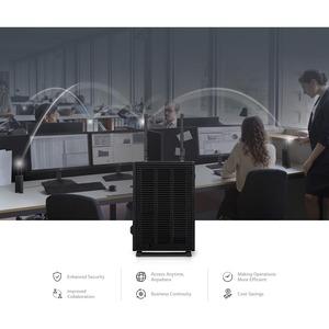 Thin Client LG CL600N-6AIntel Celeron J4105 Quad core (4 Core) 1,50 GHz - 4 GB RAM DDR4 SDRAM - 16 GB Flash - Intel - Giga