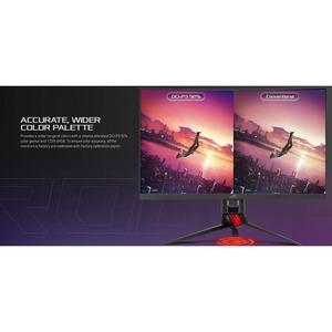 "Asus ROG Strix XG27WQ 68.6 cm (27"") WQHD Curved Screen WLED Gaming LCD Monitor - 16:9 - 685.80 mm Class - Vertical Alignme"