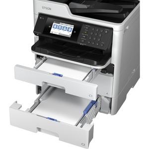 Epson WorkForce Pro WF-C579RDWF Wireless Inkjet Multifunction Printer - Colour - Copier/Fax/Printer/Scanner - 34 ppm Mono/