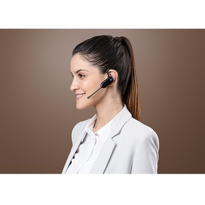 Yealink WH63 Teams Wireless Over-the-head, Earbud, Behind-the-neck Mono Earset - Binaural - In-ear - 12009.1 cm - DECT CAT