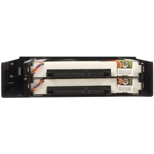 StarTech.com 2 Drive 2.5in Trayless Hot Swap SATA Mobile Rack Backplane - Dual Drive SATA Mobile Rack Enclosure for 3.5 HD