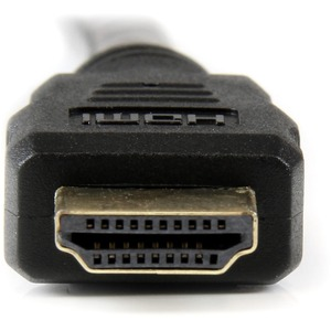 StarTech.com Cable HDMI® a DVI 10m - DVI-D Macho - HDMI Macho - Adaptador - Negro - Extremo prinicpal: 1 x HDMI Macho Audi