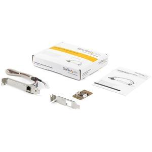 StarTech.com Adattatore scheda di rete NIC mini PCI Express Gigabit Ethernet - PCI Express - 1 Porta(e) - 1