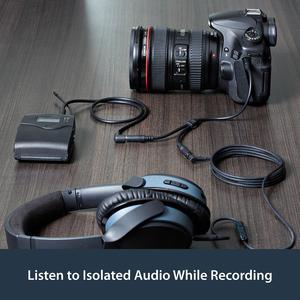 StarTech.com Cavo splitter stereo slim - Maschio 3,5 mm a 2 femmina 3,5 mm - Estremità 1: 1 x Mini-phone Maschio Audio ste