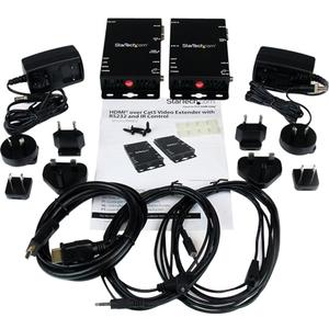 StarTech.com Extender video HDBaseT HDMI via Cat5 con RS-232 e controllo IR - Ultra HD 4K - 100m - 1 Dispositivo d'ingress