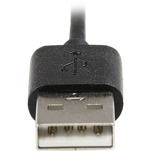 StarTech.com 1,8 m (6 ft.)Angled Black Apple 8-pin Lightning to USB Cable for iPhone iPod iPad - Angled Lightning Cable -
