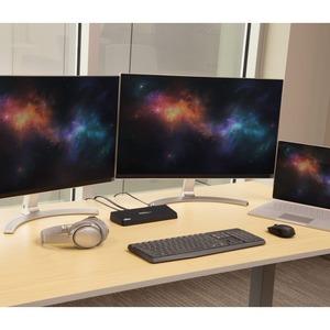 StarTech.com Replicador de Puertos Universal USB 3.0 para Ordenador Portátil - Base Docking Station DisplayPort HDMI 4K -