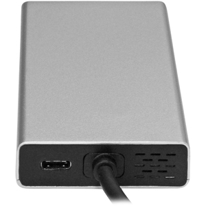 StarTech.com USB C Multiport Adapter - with Power Delivery (USB PD)- USB Type C to 4K HDMI / USB 3.0 / Gigabit Ethernet Hu