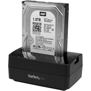 """StarTech.com Box externo USB 3.1 Gen 2 (10Gbps) ad 1 alloggiamento da 2,5""""/3,5"""" con eSATA e UAS - SSD/HDD - Interfacce hot"""