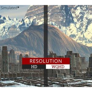 "Viewsonic Ultra Slim VX3276-2K-MHD 81.3 cm (32"") WQHD LED LCD Monitor - 16:9 - Silver - 812.80 mm Class - 2560 x 1440 - 1."