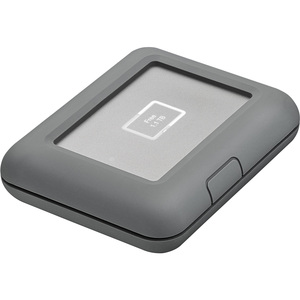 "LaCie DJI Copilot STGU2000400 2 TB Hard Drive - 2.5"" External - SATA - USB 3.1 Type C, USB 3.0 Type A - 3 Year Warranty"