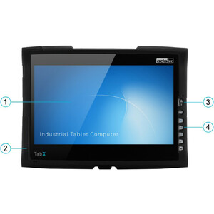 "ads-tec TabX ITC8113 Tablet - 33.8 cm (13.3"") - 8 GB RAM - 4G - Intel Core i5 i5-4300U 1.90 GHz - 1920 x 1080 - LTE, UMTS,"