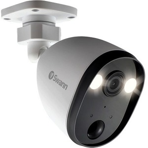 Swann Network Camera - 1 Pack - 30 m Night Vision - 1920 x 1080 - Alexa, Google Assistant Supported
