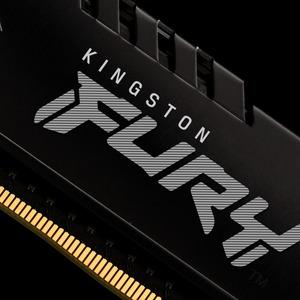 Kingston FURY Beast RAM Module - 16 GB (1 x 16GB) - DDR4-2666/PC4-21333 DDR4 SDRAM - 2666 MHz - CL16 - 1.20 V - 288-pin -