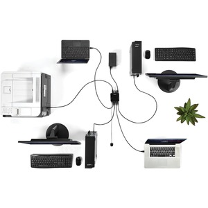 StarTech.com USB Switch - Micro USB - External - Black - 8 Total USB Port(s) - 8 USB 3.0 Port(s)