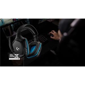 Cuffie da gaming Logitech G432 Cavo Over-the-head Stereo - Binaural - Circumaurale - 5 Kilo Ohm - 20 Hz a 20 kHz - 200 cm
