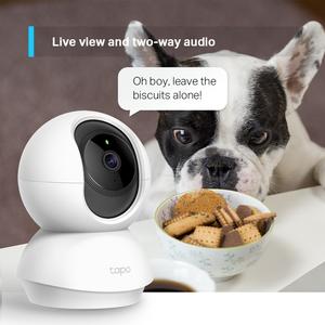 Telecamera di rete Tapo HD - Colore - 9,14 m - H.264 - 1920 x 1080 Fisso Lens - Google Assistant, Alexa Supportati