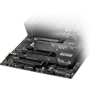 MSI MPG Z590 GAMING EDGE WIFI Desktop Motherboard - Intel Chipset - Socket LGA-1200 - Intel Optane Memory Ready - ATX - Pe