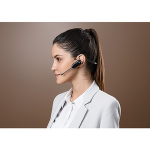 Yealink WH67 UC Wireless Earbud, Over-the-head, Behind-the-neck Mono Headset - Monaural - Supra-aural - 12009.1 cm - DECT
