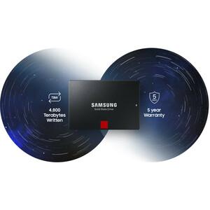 """Samsung 860 PRO MZ-76P4T0B/EU 4 TB Solid State Drive - 2.5"""" Internal - SATA (SATA/600) - Black - 560 MB/s Maximum Read Tra"""