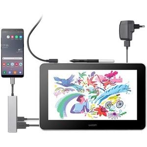 """Wacom One Display Pen Tablet - Graphics Tablet - 33.8 cm (13.3"""") - 2540 lpi Cable - 4096 Pressure Level - Pen - HDMI - Mac"""