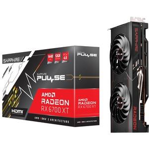 Sapphire AMD Radeon RX 6700 XT Graphic Card - 12 GB GDDR6 - 2.43 GHz Game Clock - 2.62 GHz Boost Clock - 192 bit Bus Width