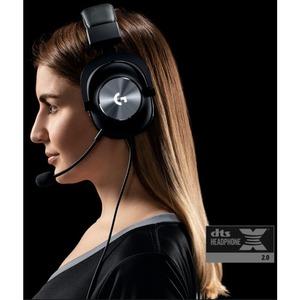 Cuffie da gaming Logitech Cavo Over-the-head Stereo - Binaural - Circumaurale - 35 Ohm - 20 Hz a 20 kHz - 200 cm Cavo - Un