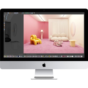 Apple iMac MXWV2X/A All-in-One Computer - Intel Core i7 10th Gen Octa-core (8 Core) 3.80 GHz - 8 GB RAM DDR4 SDRAM - 512 G