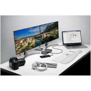 Kensington SD5700T Thunderbolt 4 Docking Station for Notebook/Monitor - 90 W - 4 x USB Ports - 4 x USB 2.0 - USB Type-C -