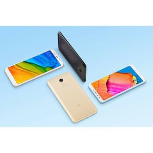 "MI Redmi 5 Plus 64 GB Smartphone - 15.2 cm (6"") LCD Full HD 1920 x 1080 - 4 GB RAM - Android 7.1.2 Nougat - 4G - Black - B"