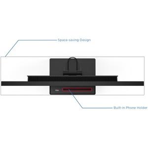 THINKVISION P27Q-20 27IN QHD IPS, 16:9 AG, HDMI+DP+USB-B, TILT/SWIV/H-ADJ, 3YR