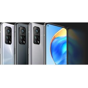 "MI 10T 128 GB Smartphone - 16.9 cm (6.7"") LCD Full HD Plus 1080 x 2400 - 6 GB RAM - Android 10 - 5G - Lunar Silver - Bar -"