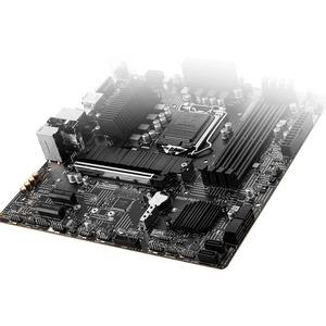 MSI B560M PRO-VDH WIFI Desktop Motherboard - Intel Chipset - Socket LGA-1200 - Intel Optane Memory Ready - Micro ATX - Cor