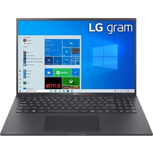 """Computer portatile - LG gram 16Z90P-G.AP75D Robusto 40,6 cm (16"""") - WQXGA - 2560 x 1600 - Intel Core i7 11a generaz. i7-11"""